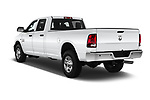 Car pictures of rear three quarter view of a 2017 Ram Ram 2500 Pickup Tradesman 4wd Crew Cab LWB 4 Door Pick Up angular rear
