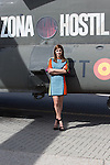 Spanish actress Mariam Hernandez attends 'Zona Hostil' photocall at the FAMET Military Base in Colmenar Viejo, Spain. March 06, 2017. (ALTERPHOTOS / Rodrigo Jimenez)