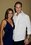 """HOLLYWOOD, CA. - October 07: Actress Jacqueline Piñol and Johnny Blu arrive at the Padres Contra El Cancer's 8th Annual """"El Sueno De Esperanza"""" Benefit Gala at the Hollywood & Highland Center on October 7, 2008 in Hollywood, California."""