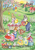 Interlitho-Dani, EASTER, OSTERN, PASCUA, paintings+++++,rabbits,KL4546,#e#, EVERYDAY