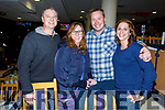 Mitch and Wendy Ward, Mark and Becky Wagner enjoying the night in Kingdom Greyhound track on Friday night.