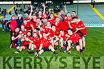 Winners Fossa in the Castleisland Mart Junior Club Football Championship Final Replay Beale V Fossa at Austin Stack Park on Sunday