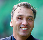 Nederland, Groningen, 7 oktober  2012.Seizoen 2012-2013.Eredivisie.FC Groningen-Feyenoord.Robert Maaskant, trainer-coach van FC Groningen