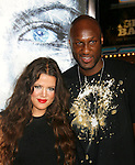 "WESTWOOD, CA. - September 09: Lamar Odom and Khloe Kardashian arrive at the Los Angeles premiere of ""Whiteout"" at the Mann Village Theatre on September 9, 2009 in Westwood, Los Angeles, California."