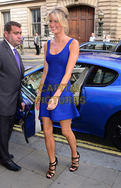 Caroline Winberg<br /> The Face TV press launch, Royal Opera House, Covent Garden, London, England.<br /> September 26th, 2013<br /> full length blue dress black strappy sandals<br /> CAP/BF<br /> &copy;Bob Fidgeon/Capital Pictures
