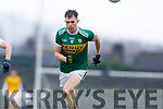 Jack Barry  Kerry in action against  Monaghan during the Allianz Football League Division 1 Round 5 match between Kerry and Monaghan at Fitzgerald Stadium in Killarney, on Sunday.