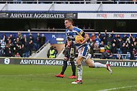 Matt Smith of QPR  scores and celebrates during Queens Park Rangers vs Birmingham City, Sky Bet EFL Championship Football at Loftus Road Stadium on 9th February 2019