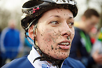 Lucie Chainel-Lefèvre (FRA) post race<br /> <br /> 2014 UCI cyclo-cross World Championships, Elite Women