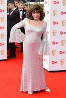 WWW.ACEPIXS.COM<br /> <br /> <br /> London, England, MAY 14 2017<br /> <br /> Dame Joan Collins attending the Virgin TV BAFTA Television Awards at The Royal Festival Hall on May 14 2017 in London, England.<br /> <br /> <br /> <br /> Please byline: Famous/ACE Pictures<br /> <br /> ACE Pictures, Inc.<br /> www.acepixs.com, Email: info@acepixs.com<br /> Tel: 646 769 0430