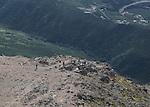 Anchorage Flat top mountain