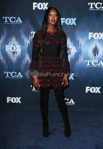 Pasadena, CA - JANUARY 11: Naomi Campbell, At 2017 Winter TCA Tour - FOX All-Star Party, At Langham Hotel In California on January 11, 2017. Credit: Faye Sadou/MediaPunch