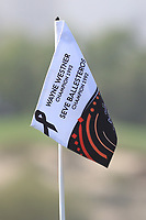 Flag on the 2nd during Round 3 of the Omega Dubai Desert Classic, Emirates Golf Club, Dubai,  United Arab Emirates. 26/01/2019<br /> Picture: Golffile | Thos Caffrey<br /> <br /> <br /> All photo usage must carry mandatory copyright credit (© Golffile | Thos Caffrey)