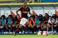 Calcio, Serie A: Frosinone vs Roma. Frosinone, stadio Comunale, 12 settembre 2015.<br /> Roma&rsquo;s Seydou Keita in action during the Italian Serie A football match between Frosinone and Roma at Frosinone Comunale stadium, 12 September 2015.<br /> UPDATE IMAGES PRESS/Riccardo De Luca