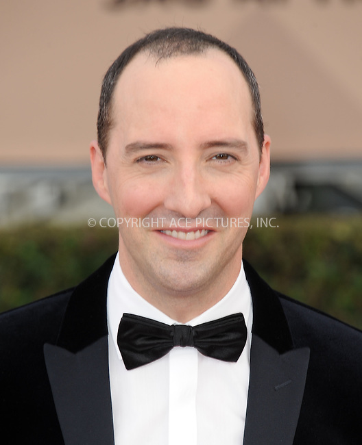 WWW.ACEPIXS.COM<br /> <br /> January 30 2016, LA<br /> <br /> Tony Hale arriving at the 22nd Annual Screen Actors Guild Awards at the Shrine Auditorium on January 30, 2016 in Los Angeles, California<br /> <br /> By Line: Peter West/ACE Pictures<br /> <br /> <br /> ACE Pictures, Inc.<br /> tel: 646 769 0430<br /> Email: info@acepixs.com<br /> www.acepixs.com
