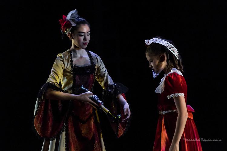"""Cary Ballet Company """"Nutcracker"""", Dress Rehearsal. Wed , 14 Dec. 2016, Cary Arts Center, Cary, North Carolina."""