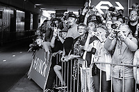 An enthisiastic dutch crowd waiting for Tom Dumoulin (NED/Team Sunweb) to start his iTT<br /> <br /> Binckbank Tour 2017 (UCI World Tour)<br /> Stage 2: ITT Voorburg (NL) 9km