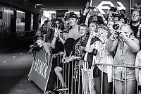 An enthisiastic dutch crowd waiting for Tom Dumoulin (NED/Team Sunweb) to start his iTT<br /> <br /> Binckbank Tour 2017 (UCI World Tour)<br /> Stage 2: ITT Voorburg (NL) 9km