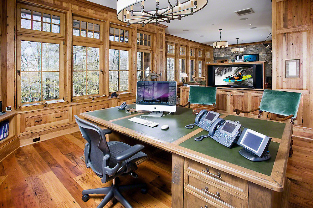 Office With Home Surveillance And Phone System