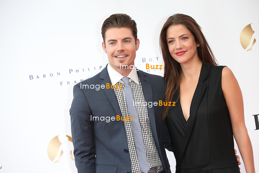 CPE/Josh Henderson and Julie Gonzal attend the opening ceremony of the 53rd Monte Carlo TV Festival on June 9, 2013 in Monte-Carlo, Monaco.