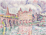 The Look at Montauban in rain, 1922<br />