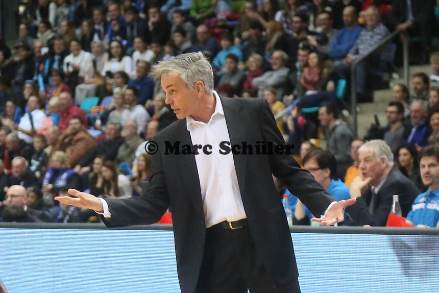Trainer Gordon Herbert (Skyliners) - Fraport Skyliners vs. Mitteldeutscher BC, Fraport Arena Frankfurt