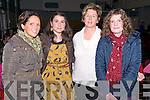 Muireann O'Donovan, Zelda O'Shea, Niamh Burke and Caroline Falvey (all from Glenbeigh) at the Mid Kerry Scór na bPaistí Final in the CYMS Killorglin last Friday night.