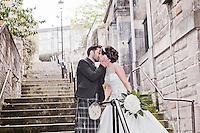 Drew & Leona On Their Wedding Day