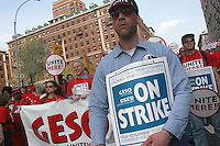 (050420-SWR081.jpg) New York, NY - Striking Graduate Student Employees from Yale and Columbia University rally on West 116th Street, across from Columbia University. Workers are calling for the right to form labor unions and to have that union recognized by the universities...© Stacy Walsh Rosenstock.stacy@impactdigitals.com