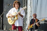 SÃO PAULO,SP, 18.06.2016 - SHOW-SP - Toninho Horta, durante apresentação na segunda edição do Festival BB Seguridade de Blues e Jazz, no Parque Villa Lobos em São Paulo, neste sábado, 18. (Foto: Bete Marques/Brazil Photo Press)