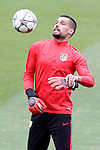Atletico de Madrid's Miguel Angel Moya during training session. April 4,2016.(ALTERPHOTOS/Acero)