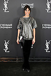 Alba Lago attends L'Homme from Yves Saint Laurent event in Madrid, Spain. February 29, 2016. (ALTERPHOTOS/Victor Blanco)