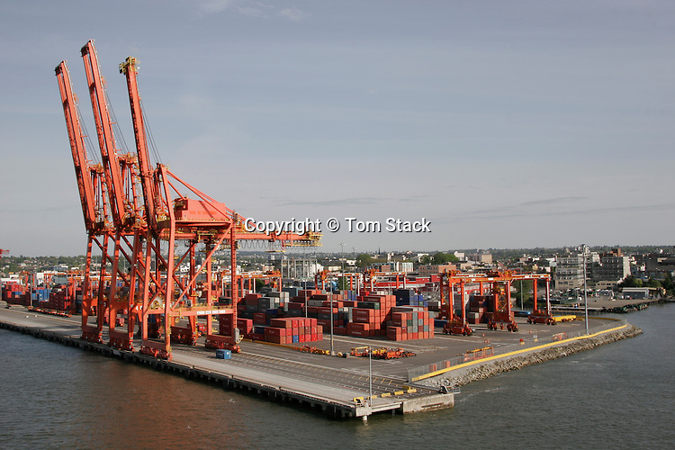 Container freight yard, Vancouver, B.C.