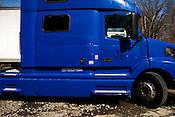 March 04, 2009. Durham, NC.. Photos of the Carolina Biofuels green oil campus in Durham..A biodiesel powered semi truck.