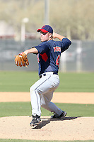 Mike Pontius, Cleveland Indians 2010 minor league spring training..Photo by:  Bill Mitchell/Four Seam Images.
