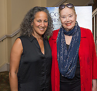 """Gina Belafonte and Sally Kirkland attend the Screening and Reception for Feature Film """"Courting Des Moines"""" at the Charlie Chaplin Theater, Raleigh Studios in Los Angeles on Thursday, June 30, 2016 (Photo by Inae Bloom/Guest of a Guest)"""