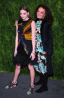 NEW YORK, NY - November 5: Kristine Froseth and Diane von Furstenberg attends FDA / Vogue Fashion Fund 15th Anniversary event at Brooklyn Navy Yard on November 5, 2018 in Brooklyn, New York <br /> CAP/MPI/PAL<br /> &copy;PAL/MPI/Capital Pictures