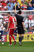 09/08/2015 Sky Bet League Championship Preston North End v Middlesbrough <br /> Kike booked