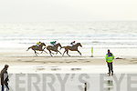 Action from Ballyheigue races on New Year's Day.
