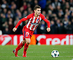 Atletico Madrid's Lucas Hernandez in action during the Champions League Group C match at the Stamford Bridge, London. Picture date: December 5th 2017. Picture credit should read: David Klein/Sportimage