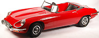 BNPS.co.uk (01202 558833)<br /> Pic: EastBristolAuctions/BNPS<br /> <br /> £9000 - Top lot, Harrods Limited edition Junior E-Type Jaguar child's car<br />   <br /> Toy story...<br /> <br /> A remarkable lifetime collection of 30 vintage toy cars has emerged for sale for more than £65,000.<br /> <br /> The fleet of rare pedal cars were acquired over almost half a century by retired car garage owner David Worrow, 72.<br /> <br /> During their time with Mr Worrow they formed what was believed to be the biggest private collection of its kind in the world.
