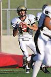 Palos Verdes, CA 11/10/10 - Matt Imwalle (Peninsula #17) in action during the junior varsity football game between Peninsula and Palos Verdes at Palos Verdes High School.