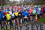 Ready for road as the runners get ready for Tralee Parkrun's 3rd birthday run in the Tralee town park on Saturday morning last.