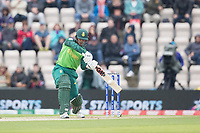 Quinton de Kock  (South Africa) drives through the off side during South Africa vs West Indies, ICC World Cup Cricket at the Hampshire Bowl on 10th June 2019