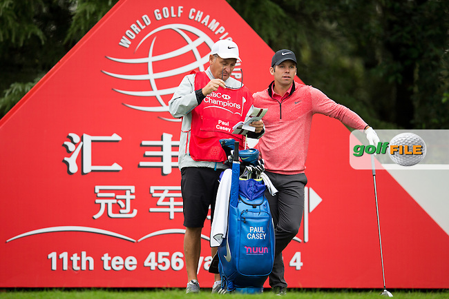 Paul Casey (ENG) on the 11th during the 1st round f the WGC-HSBC Champions, Sheshan International GC, Shanghai, China PR.  27/10/2016<br /> Picture: Golffile | Fran Caffrey<br /> <br /> <br /> All photo usage must carry mandatory copyright credit (&copy; Golffile | Fran Caffrey)