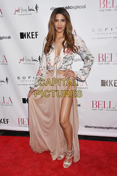 LOS ANGELES, CA - JUNE 23:  Model/actor Celisa 'CJ' Franco attends the BELLA Los Angeles Summer Issue Cover Launch Party at Sofitel Los Angeles At Beverly Hills on June 23, 2017 in Los Angeles, California.<br /> CAP/ROT/TM<br /> &copy;TM/ROT/Capital Pictures