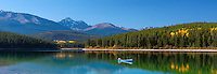 Canadian leisure activity in Jasper National Park, Canada