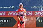 Fausto Masnada (ITA) Androni Giocattoli-Sidermec wins the sprints and combativity classifications at the end of Stage 21 the final stage of the 2019 Giro d'Italia, an individual time trial running 17km from Verona to Verona, Italy. 2nd June 2019<br /> Picture: Gian Mattia D'Alberto/LaPresse | Cyclefile<br /> <br /> All photos usage must carry mandatory copyright credit (© Cyclefile | Gian Mattia D'Alberto/LaPresse)