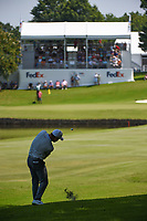 Paul Casey (GBR) hits his approach shot on 9 during round 3 of the WGC FedEx St. Jude Invitational, TPC Southwind, Memphis, Tennessee, USA. 7/27/2019.<br /> Picture Ken Murray / Golffile.ie<br /> <br /> All photo usage must carry mandatory copyright credit (© Golffile | Ken Murray)
