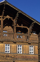 Europe/Suisse/Engadine/Maloja: Vieil hôtel
