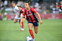 BOYDS, MD - JULY 20: Washington Spirit forward Mallory Mal Pugh (11) dribbles to the goal during the National Women's Soccer League (NWSL) game between the Houston Dash and Washington Spirit July 20, 2019 at Maureen Hendricks Field at Maryland SoccerPlex in Boyds, MD. (Photo by Randy Litzinger/Icon Sportswire)